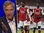 Souness praises Arsenal's attackers but says the rest of the team were average in West Ham win