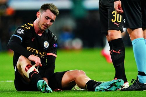 Aymeric Laporte suffers fresh injury blow just four games into Man City return