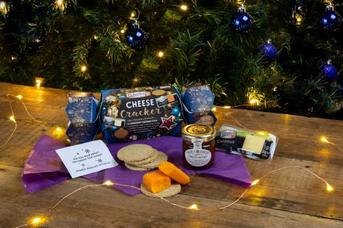You can now get cheese Christmas crackers set to transform your festive table