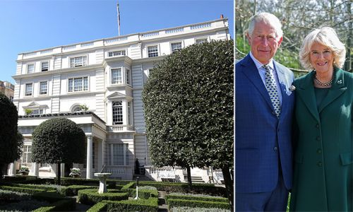 Prince Charles and Camilla's home is the film set for the Duchess' new project - take a tour
