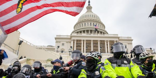 A Black Capitol Police officer reportedly put on a MAGA hat to rescue his fellow officers during the Capitol siege