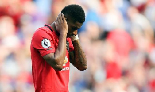 Manchester United's Marcus Rashford racially abused online after missing penalty