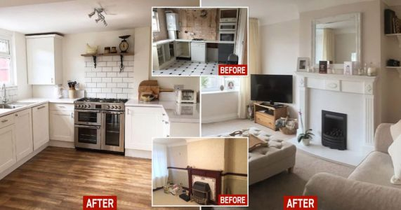 First-time buyer renovates mouldly home during lockdown and adds £45k to the value