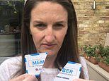 Tories CUT UP their membership cards as party splits over face masks
