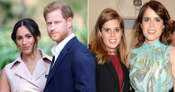 Harry and Meghan's 'hidden dig' at Beatrice and Eugenie