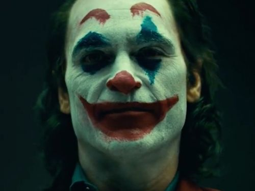 The 'Joker' origin movie teases first footage at Joaquin Phoenix in clown makeup