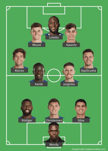 Three possible XI's Chelsea boss Thomas Tuchel could turn to against Manchester City