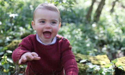 Prince William and Duchess Kate share beautiful pictures of Prince Louis to mark first birthday