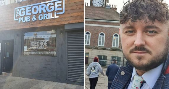Pub in domestic abuse row after asking customers if they'd 'punch their ex for a steak'