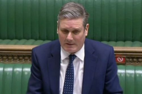Keir Starmer self-isolating for third time after contact with coronavirus case