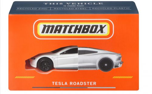 Matchbox cars relaunch in UK with model of 250mph, 0-60mph in 1.8 secs Tesla Roadster