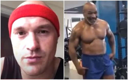 Tyson Fury reacts to Mike Tyson's comeback and potential Evander Holyfield fight