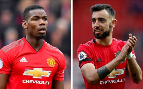 How Manchester United can become more threatening by playing Paul Pogba and Bruno Fernandes together