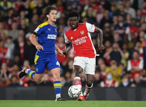 Mikel Arteta explains why he risked Thomas Partey in Arsenal's win over AFC Wimbledon