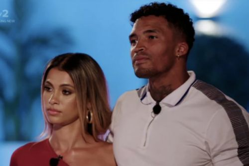 Love Island's Joanna Chimonides says she'll be HAPPY for Michael Griffiths if he gets with Amber Gill after branding him a 'snake' for not leaving with her: 'You never know'