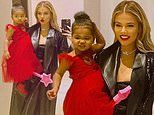 Khloe Kardashian is dressed to impress for 'holiday season' fun with her daughter True