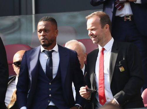 Patrice Evra confirms 'important talks' with Manchester United over role at the club
