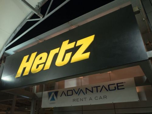 A rental car company previously owned by Hertz just filed for bankruptcy for the third time since 2008