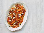 Mary Berry's easy Easter: Spicy roast squash & feta salad