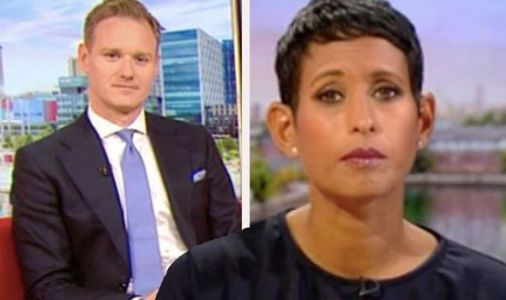 Dan Walker reprimands Naga for throwing BBC breakfast into chaos 'Get on with it!'