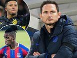 Frank Lampard drops clear hint how Chelsea could make moves for Jadon Sancho and Wilfried Zaha