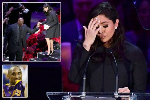 Kobe Bryant's wife Vanessa's emotional tribute to LA Lakers legend at memorial service
