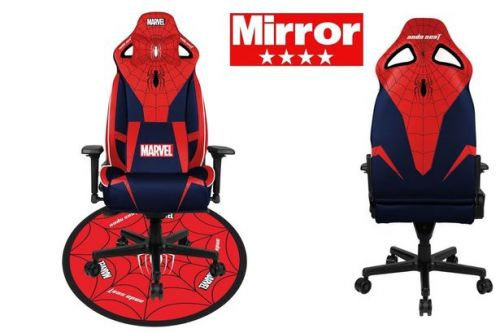 AndaSeat and Marvel assemble to create a perfect gaming chair for superhero fans