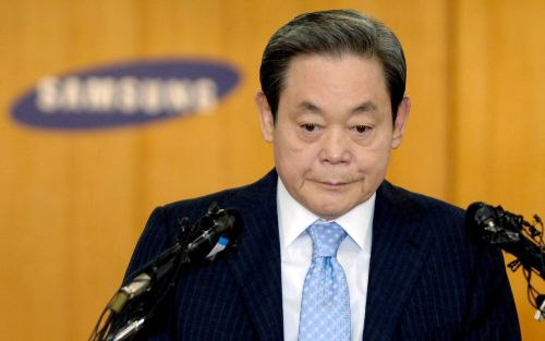 Lee Kun-hee dies aged 78: Samsung's chairman passes away surrounded by family