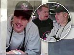 Justin Bieber and James Corden dish food from custom Yummy Food Truck on The Late Late Show