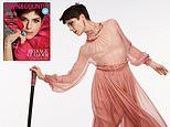 Selma Blair poses with a cane as she covers Town & Country magazine amid her ongoing battle with MS