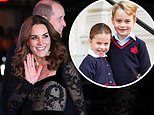 Prince George and Princess Charlotte wanted watch the 'singing and dancing' at the Royal Variety