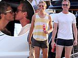Neil Patrick Harris steals a kiss from David Burtka during luxury yachting vacation in Croatia