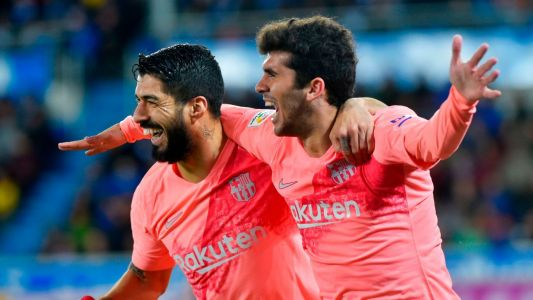 Barcelona move closer to La Liga title with win at Alaves