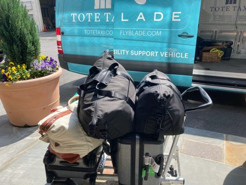 A day in the life of a 30-year-old entrepreneur who ferries clients' Peloton bikes, golf bags, and Diaper Genies from the Hamptons to NYC, and who says business is booming during the pandemic