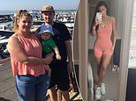 Mother loses seven stone she had gained during a surprise pregnancy
