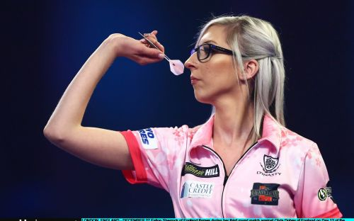 Fallon Sherrock: I'm high risk for coronavirus - but at least I can stay in and practise darts with my son