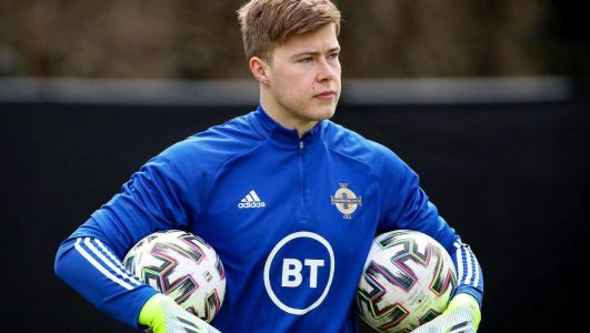 Watch: NI goalkeeper's howler for Sheffield Wednesday