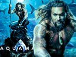 Jason Momoa makes waves in new Aquaman poster out ahead of trailer premiere at Comic Con