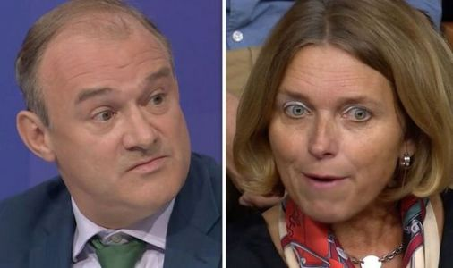 BBC QT: Lib Dem Ed Davey's Brexit policy is ripped apart by audience member - 'It's you!'