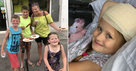 Girl, 6, had multiple brain tumours discovered after routine eye test