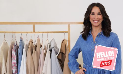 Andrea McLean wows in flirty deep-V dress in new video