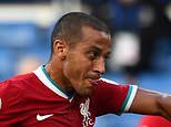 Liverpool midfielder Thiago Alcantara tests positive for coronavirus