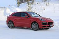 New Porsche Cayenne Coupe GTS previewed in spy shots