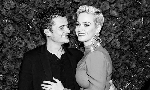 Katy Perry and Orlando Bloom reveal gender of their baby with sweet picture