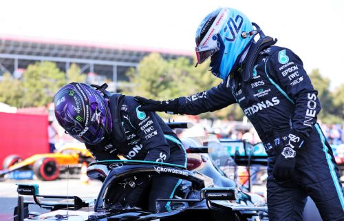 Bottas 'not worried' he's slipping into No.2 role