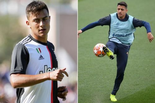 Alexis Sanchez's hopes of sealing Man Utd exit may be scuppered by Paulo Dybala