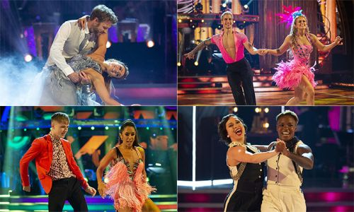 Strictly week one highlights: HRVY tops the leaderboard, Katya and Nicola's first dance and more