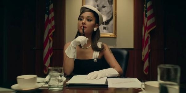 Ariana Grande is the president in her new video for 'promises'