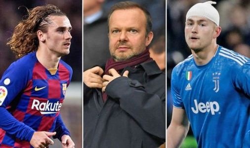 Man Utd news LIVE: Woodward sees Griezmann as transfer bargain, De Ligt open to move