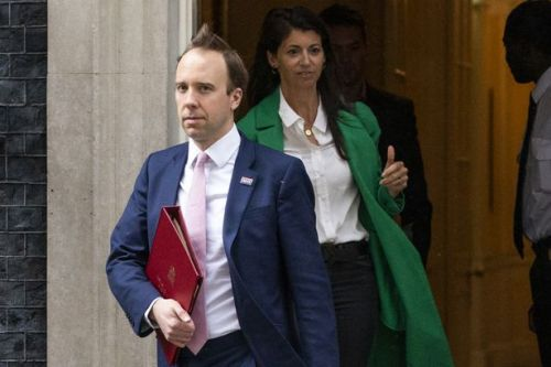 Matt Hancock accused of affair after kissing aide in his office during pandemic